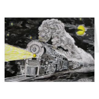 Farewell To Steam Greeting Card