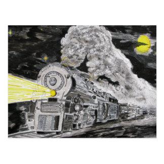Farewell To Steam Post Card