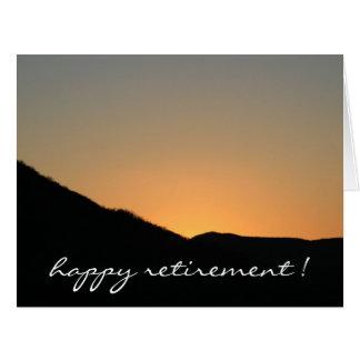 farewell to the sunset big big greeting card