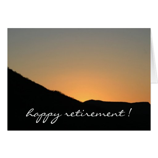 farewell to the sunset greeting cards