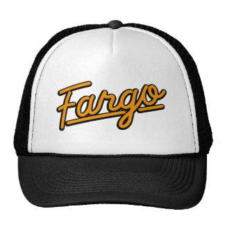 Fargo in orange cap