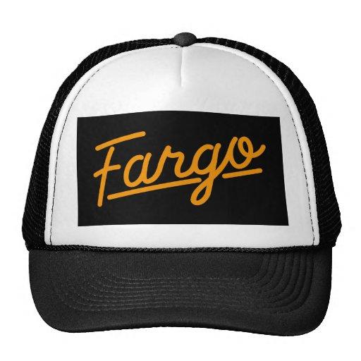 Fargo in orange hats