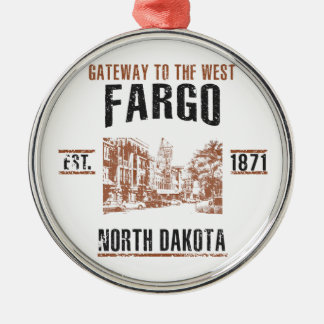 Fargo Metal Ornament