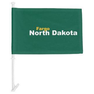 Fargo, North Dakota Car Flag
