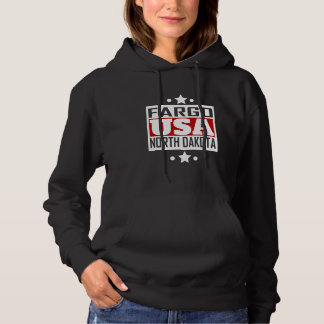 Fargo North Dakota USA Hoodie
