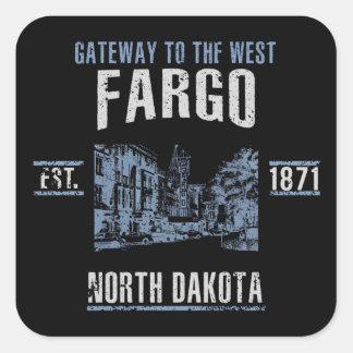 Fargo Square Sticker