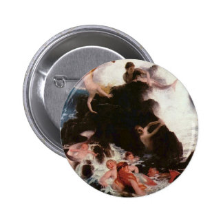 Faritytalesque Sleeping Beauty Pinback Button