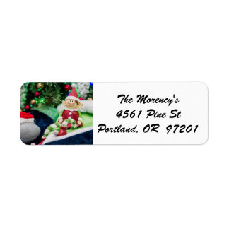 Farley the Elf Address Labels