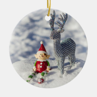 Farley the Elf Ornament