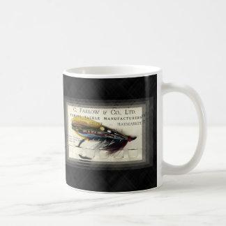 Farlow Salmon Fly Basic White Mug