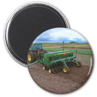 Farm 6 Cm Round Magnet