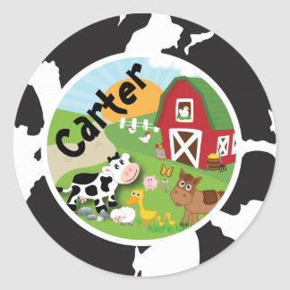 Farm Animal Sticker