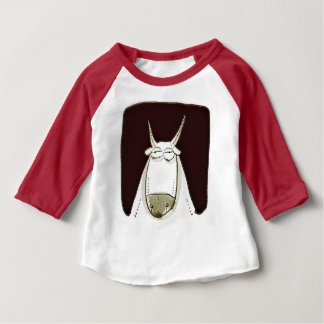 farm animal the cattle funny cartoon baby T-Shirt