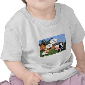 Farm animals cute cartoon funny facebook chat shirts