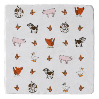 Farm Animals Trivet