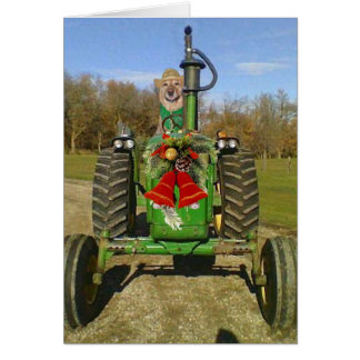 Farm Blessing Christmas Greeting Cards
