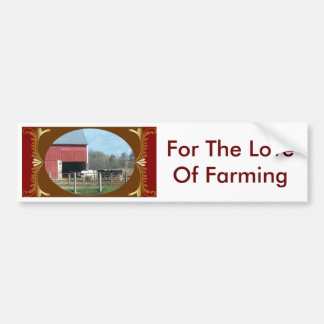 Farm Bumper Sticker