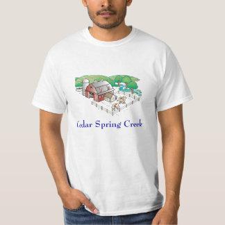 farm, Cedar Spring Creek Tshirt