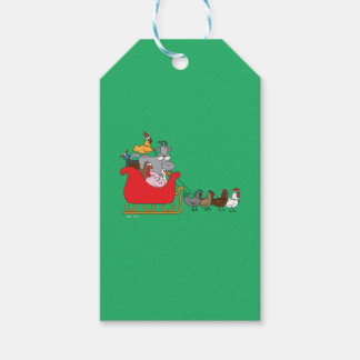 Farm Christmas Gift Tags