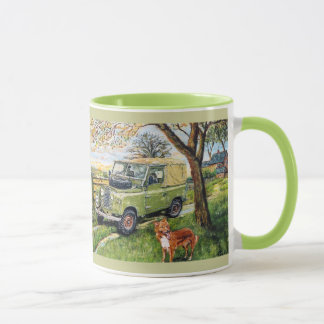 """FARM"" design Ringer Mug"