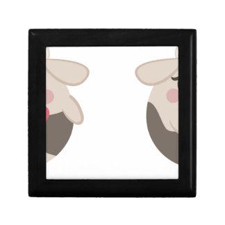 farm emojis - cow gift box