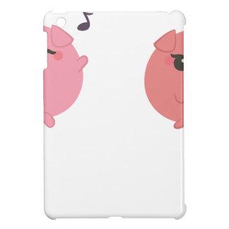 farm emojis - pig iPad mini case