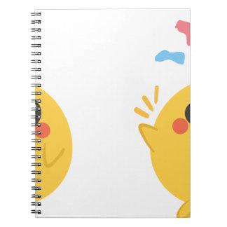 farm emojis - they chicken notebook