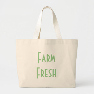 Farm Fresh Large Tote Bag