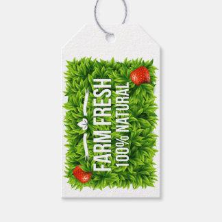 Farm Fresh or Organic Gift Tag - SRF