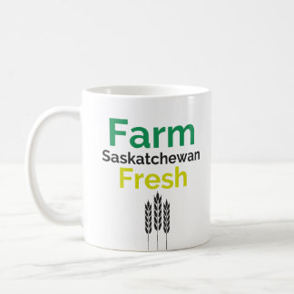 Farm Fresh Saskatchewan Mug