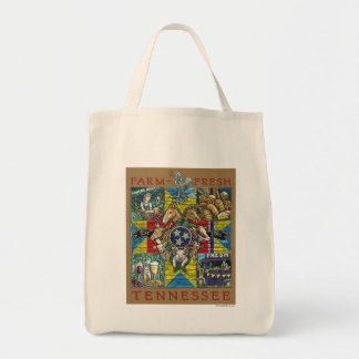 Farm Fresh Tennessee Grocery Tote