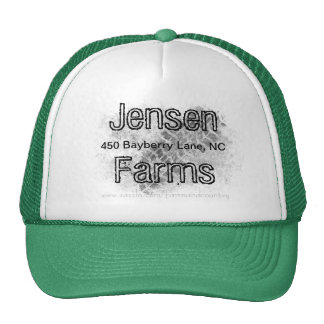Farm hat, Family Farm, tire track, farm logo Cap