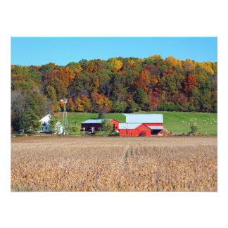 Farm in Fall Photo