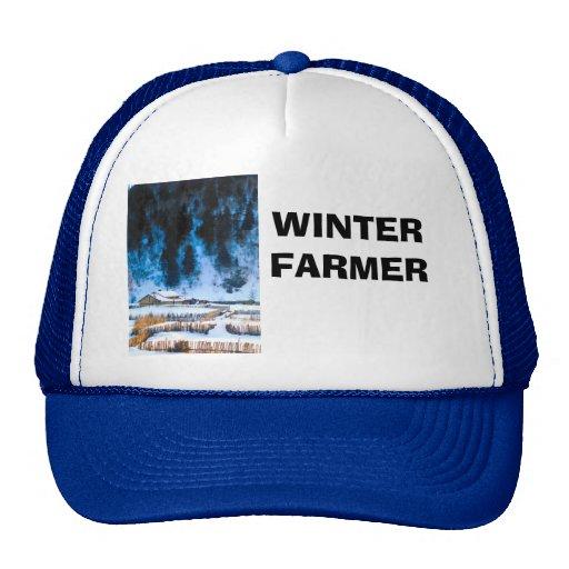 Farm in north China Mesh Hats