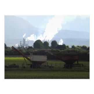 farm industry stillness photo print