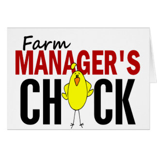 Farm Manager's Chick Card