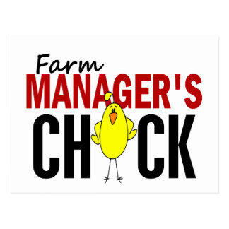 Farm Manager's Chick Post Cards