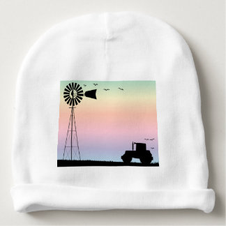 Farm Morning Sky Baby Beanie
