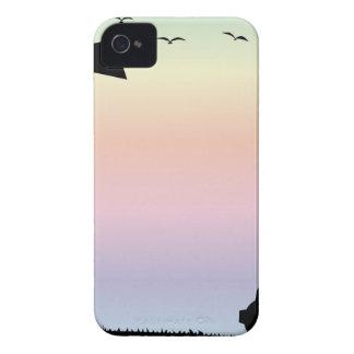 Farm Morning Sky iPhone 4 Case