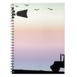 Farm Morning Sky Notebook
