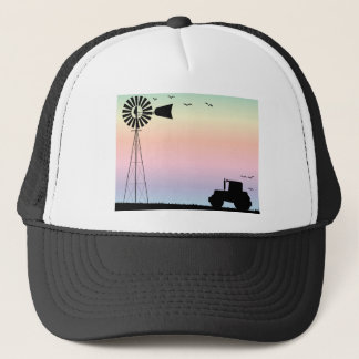 Farm Morning Sky Trucker Hat