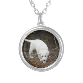 Farm Puppy Silver Plated Necklace
