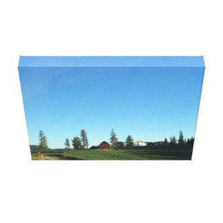 Farm Scene Canvas Print