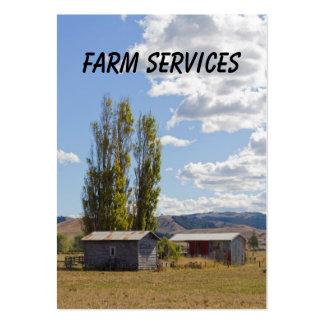 Farm Services Business Card
