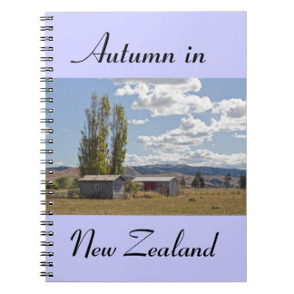 Farm sheds in New Zealand Notebook