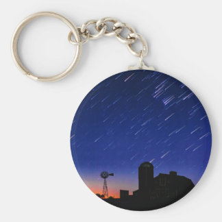 Farm Stars Key Ring