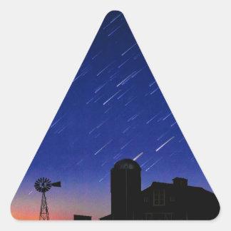 Farm Stars Triangle Sticker