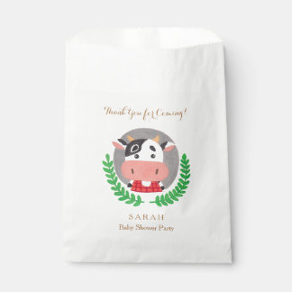Farm Theme - The Cute Cow Favor Bag Favour Bags