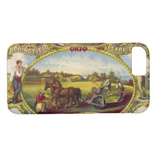 Farm Tools Ad 1859 iPhone 7 Case