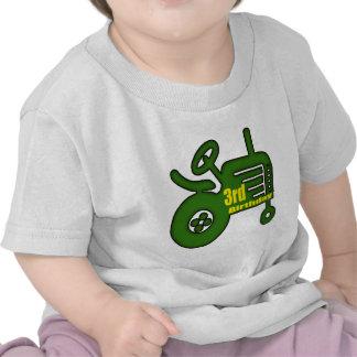 Farm Tractor 3rd Birthday Gifts Tshirt